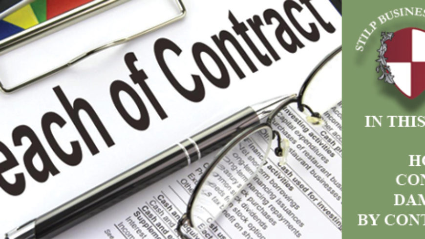 Contract Scope of Damages – How to Take Control